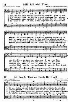 favorite hymns of praise 11 still still with thee when purple morning breaketh hymnary org