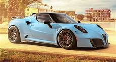 alfa romeo 4c zeus by pogea is lighter more powerful and