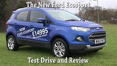 the all new 2014 ford ecosport review and test drive
