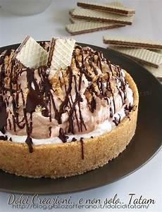 dolce con wafer torta fredda con wafer panna e nutella nutella and cucina
