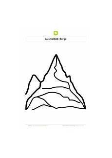 Ausmalbilder Sommer Berge Ausmalbilder Landschaften Kostenlose Ausmalbilder