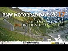 bmw motorrad days 2017 motorcycle tour