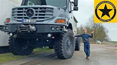 mercedes zetros truck 4x4 expedition mobile extended