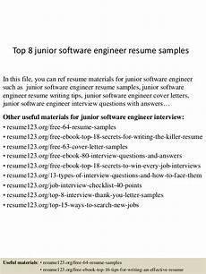 top 8 software engineer resume sles