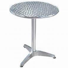 Table Ronde Bistrot Aluminium Diam 60 Cm Fr