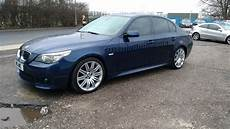 Bmw E60 530d - bmw 530d e60 sport 2007 facelift lci model blue bmw