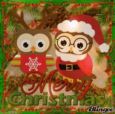 merry christmas owls picture 136168167 blingee com