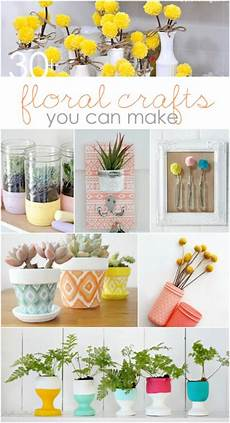 Home Decor Ideas Craft by Diy Floral Crafts To Make