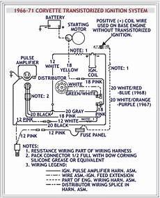 1969 corvette ignition wiring diagram date