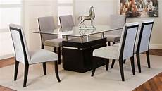 clear glass top dining room dining room and kitchen furniture dining