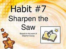 sharpen the saw 2 by danielleisathome via slideshare counseling pinterest the o jays the