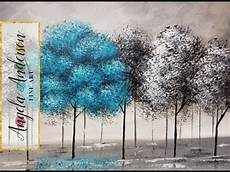 pop of color black and white trees part 2 beginner