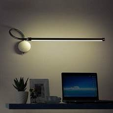 modern wall l wall mounted swing arm lights creative three color temperature bedside reading