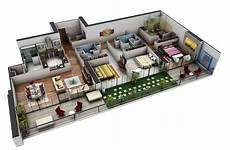 three bedroomed house plans 50 three 3 bedroom apartment house plans architecture