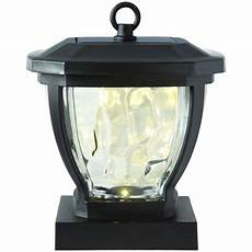 hton bay solar bronze outdoor integrated led deck light with water glass lens 2