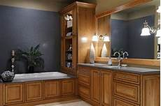 Bathroom Ideas With Oak Cabinets by Showroom