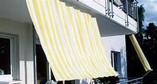 sonnenschutz balkon seitlich sonnenschutz balkon sonnensegel markise