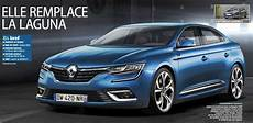 renault laguna 4 2016 renault laguna rendered as to production version as possible autoevolution