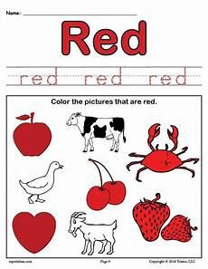 free color worksheet supplyme
