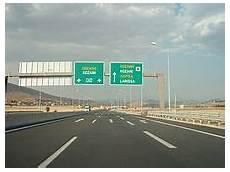 Liste Der Autobahnen In Griechenland
