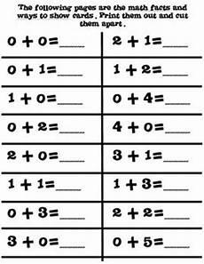 interactive 0 10 personal fact folders center common core math facts kindergarten math
