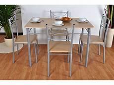 ensemble table 4 chaises table cuisine table et