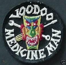voodoo medicine 1960s usaf patch voodoo medicine man f 101 45595508