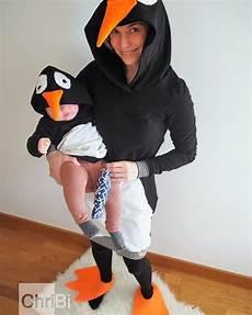 pinguin kostüm selber machen inspiration bastelanleitungen accessoires mit du dein