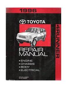 small engine service manuals 2011 toyota 4runner auto manual 1996 toyota 4runner factory service manual