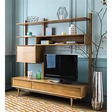 meuble tele scandinave maison du monde 201 tag 232 re meuble tv vintage portobello en ch 234 ne massif en