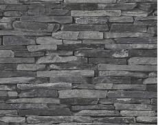 stein tapeten vliestapete stein optik naturstein grau as creation 9142 24