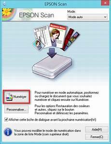 Epson Scan Num 233 Riser Scanner Un Document Ou Une Photo