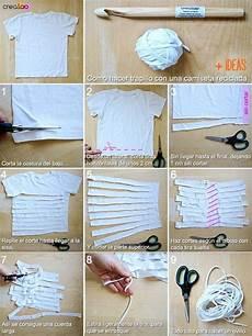 copriletti con volant come ricavare fettuccia per uncinetto da vecchie t shirt