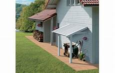tettoia in pvc tettoia laterale in pvc per casette grosfillex da 7 5 e