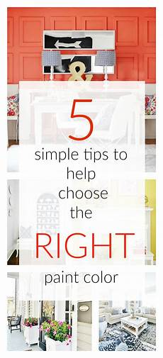 paint color 5 tips for getting it right