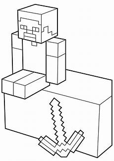 Minecraft Malvorlagen Quest Minecraft Coloring Pages Print Them For Free 100