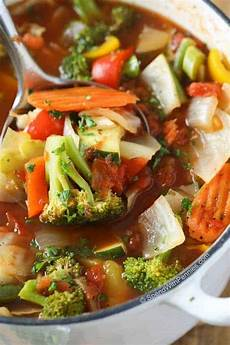 weight loss vegetable soup with amazing flavor spend with pennies