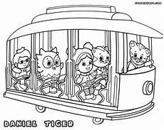 daniel tiger coloring page 8 coloring pages for kids