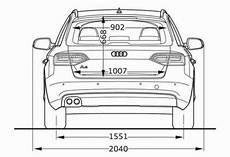 Audi A4 Avant B8 Abmessungen Technische Daten