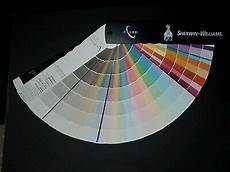 2001 sherwin williams color fan deck paint swatches chips sles 657 2846 35777543726 ebay