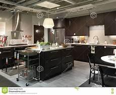 Kitchen Furniture Store Kitchen Design In Furniture Store Ikea Editorial Image