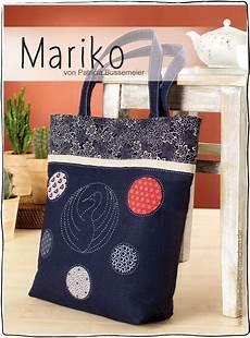 Tutorial Tasche Mariko Applizieren Sticken Und N 228 Hen