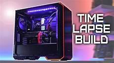 4000 gaming pc 2080ti i9 9900k time lapse build