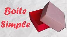 origami boite en papier simple et rapide