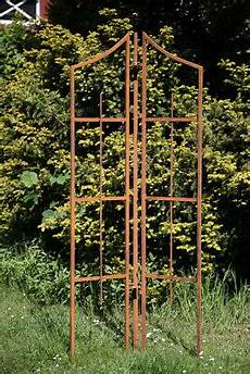 Rankhilfe Metall Rost 3 Tlg H 246 He 188cm Rankgitter