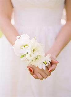 Flower Wristlets For Weddings