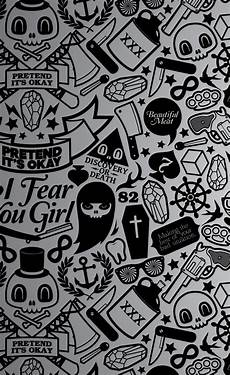 black and white wallpaper for iphone 4s pretend its okay vector iphone 4s wallpapers free