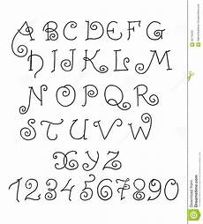 lettere corsive punto croce vector alphabet letters and numbers