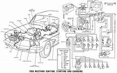 1966 mustang headlight wiring diagram ford 302 diagram