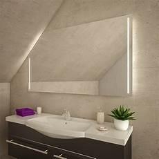led badspiegel mit dachschr 228 ge sds024 kaufen spiegel21